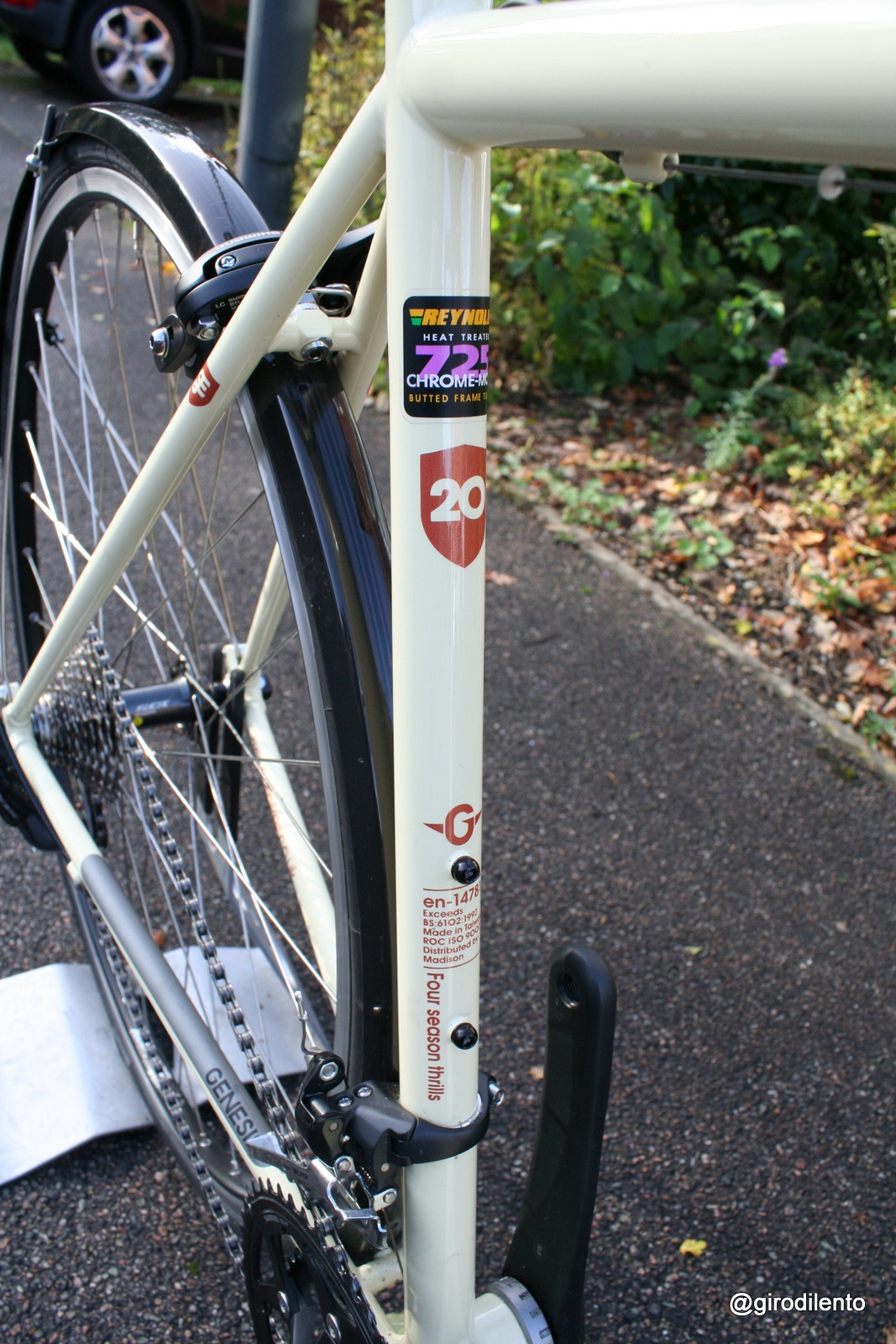 Seat tube details