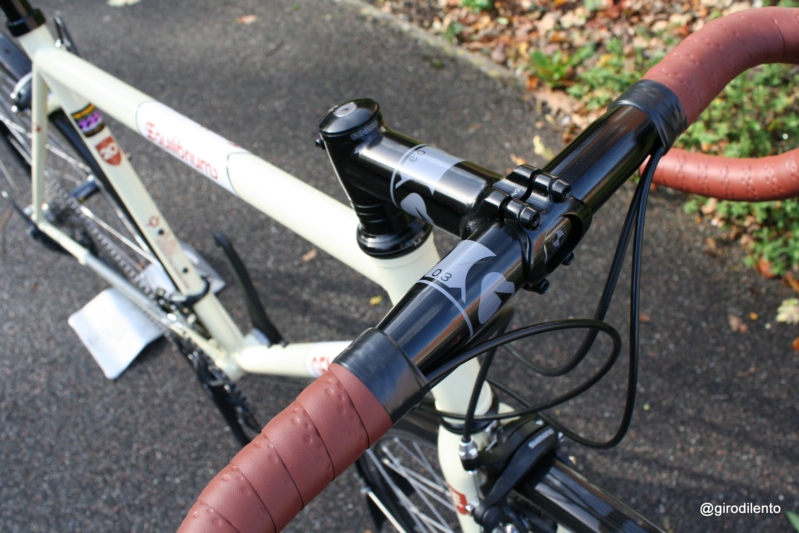 Genesis bars and stem look great on the bike and seem nice to ride so far