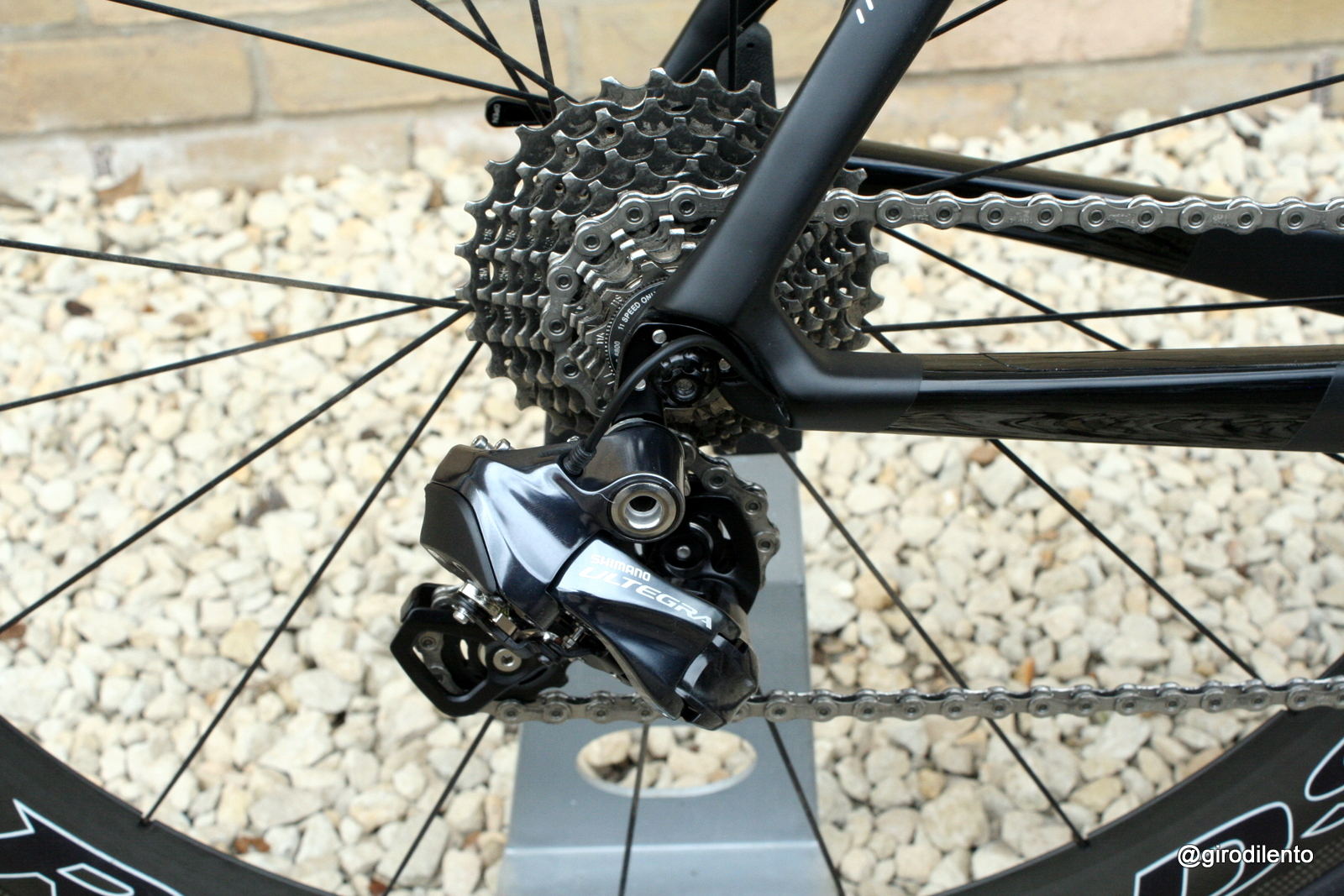 New Ultegra 6870 Di2 rear mech
