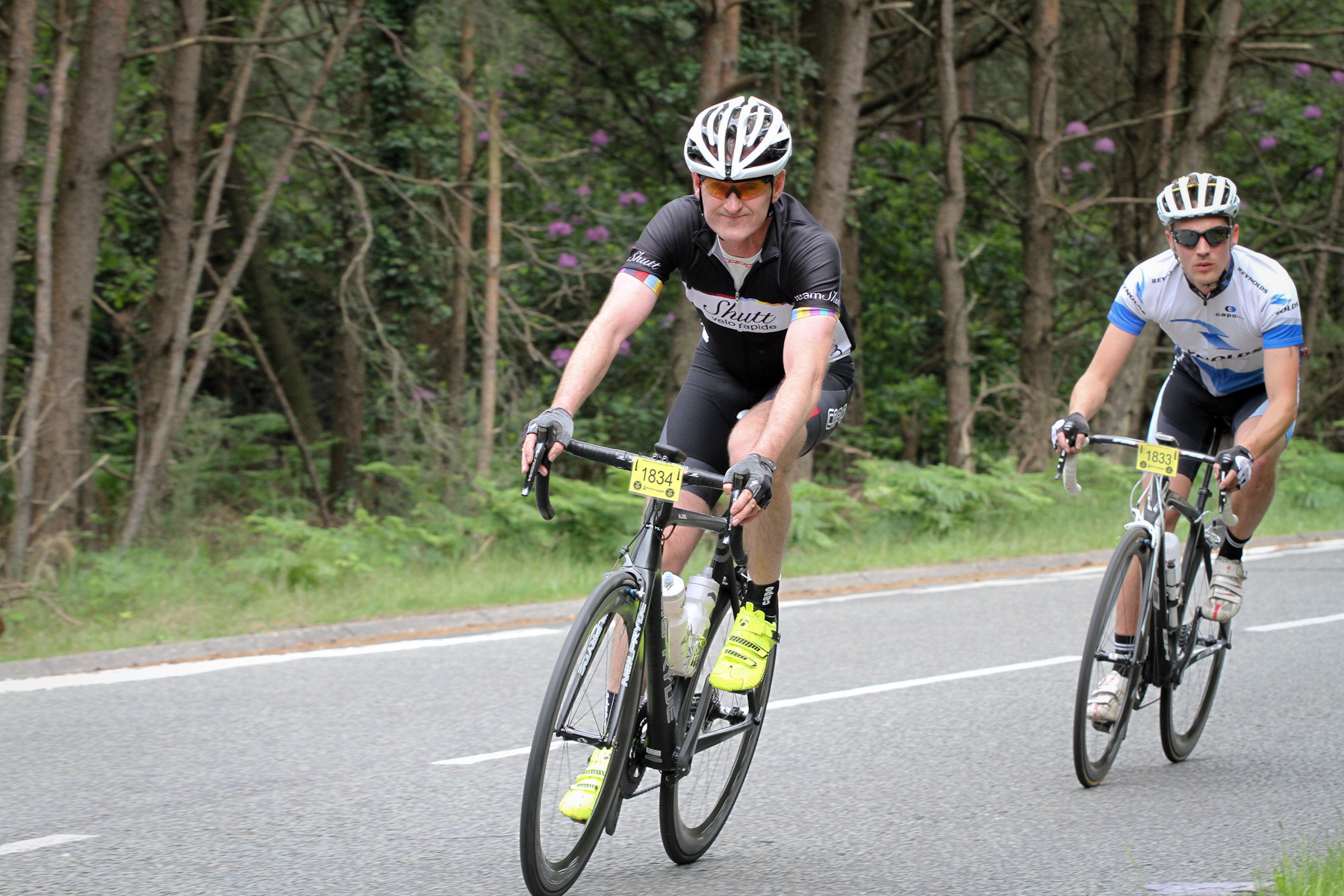 In action at the Wiggle UKCE Bournemouth Sportive