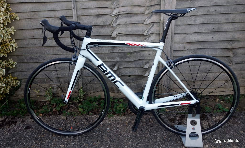 BMC TeamMachine SLR02 - non drive side view